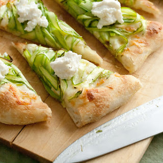 Shaved Asparagus Pizza.