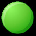 Hopping dots - logic puzzle icon