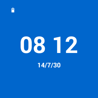 Color Watchface Android Wear