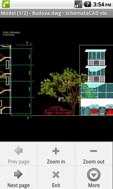 SchemataCAD viewer DWG/DXF- screenshot