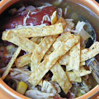 Slow Cooker Fiesta Chicken Soup.