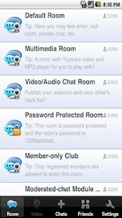 123FlashChat - screenshot thumbnail