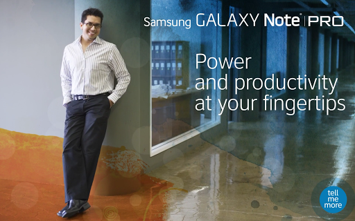 devicealive Galaxy Note Pro