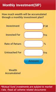 Wealth Manager- screenshot thumbnail