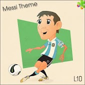Ir Locker Tema Messi