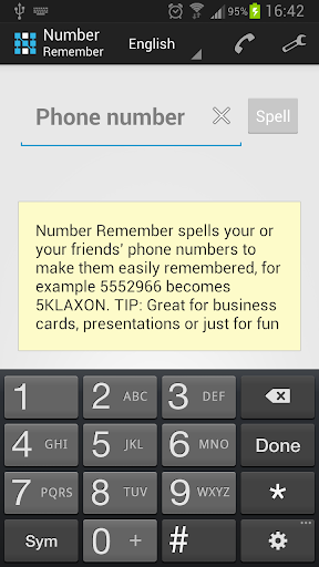 Number Remember