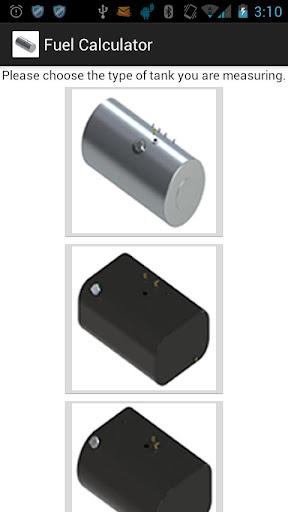 Fuel Tank Calculator
