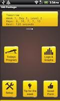 Screenshot of Hundred Pushups