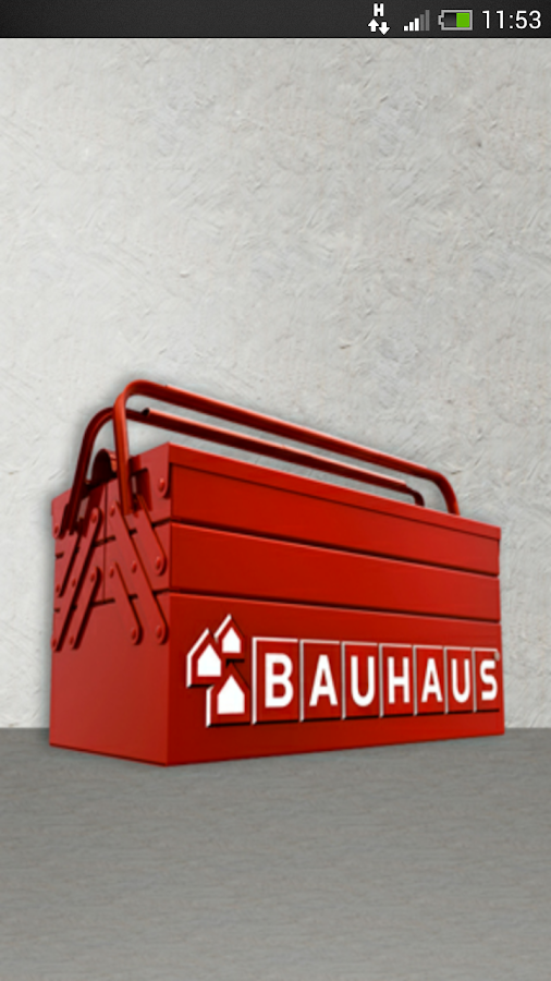 BAUHAUS Toolbox – Screenshot
