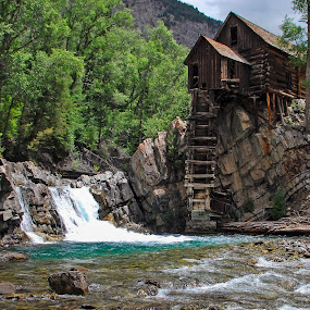 Crystal River by Rick W - Landscapes Mountains & Hills ( history, building, remote, old building, abandoned )