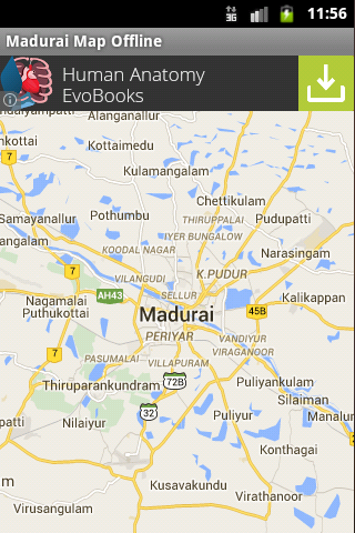 Madurai City Maps Offline
