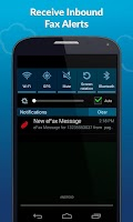 Screenshot of eFax App –Send & Receive Faxes