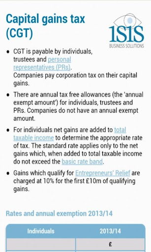 【免費財經App】Isis TaxApp-APP點子