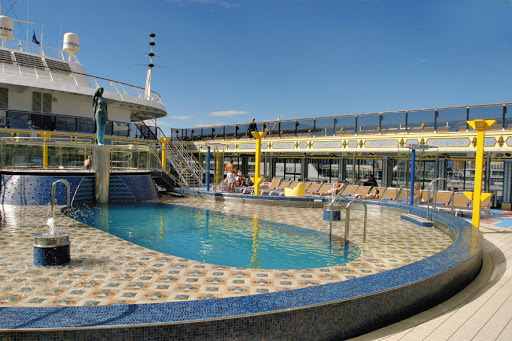 Costa-Mediterranea-Lido-Armonia - The Lido Armonia, one of four swimming areas on Costa Mediterranea.