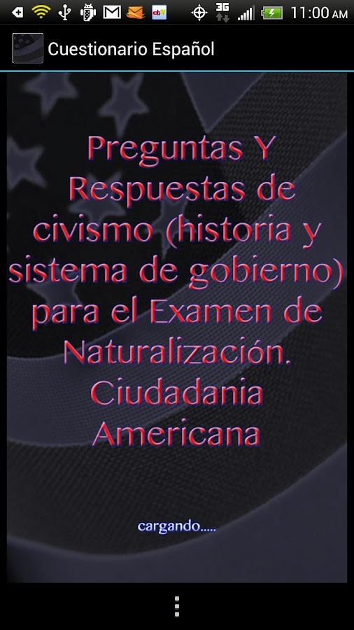 US Citizenship en Espanol- screenshot