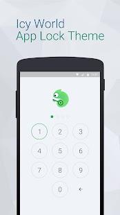 玩生產應用App|Icy World Theme for App Lock免費|APP試玩