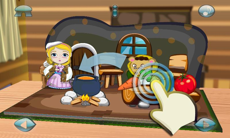 Thumbelina:3D Popup Book- screenshot