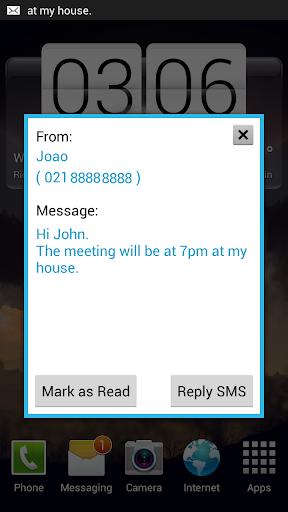 SMS Shower