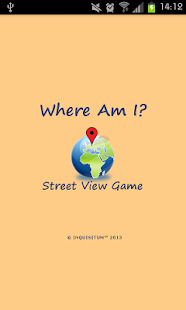 Where Am I? Street View Game- screenshot thumbnail