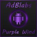 Next Launcher 3D Purple Wind icon