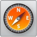 Orange GPS icon