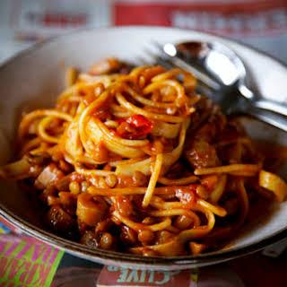 Vegetarian Spaghetti Bolognese Recipes.