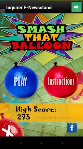 Smash that Balloon