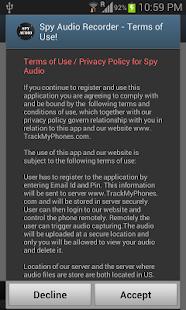 Spy Audio - Remote