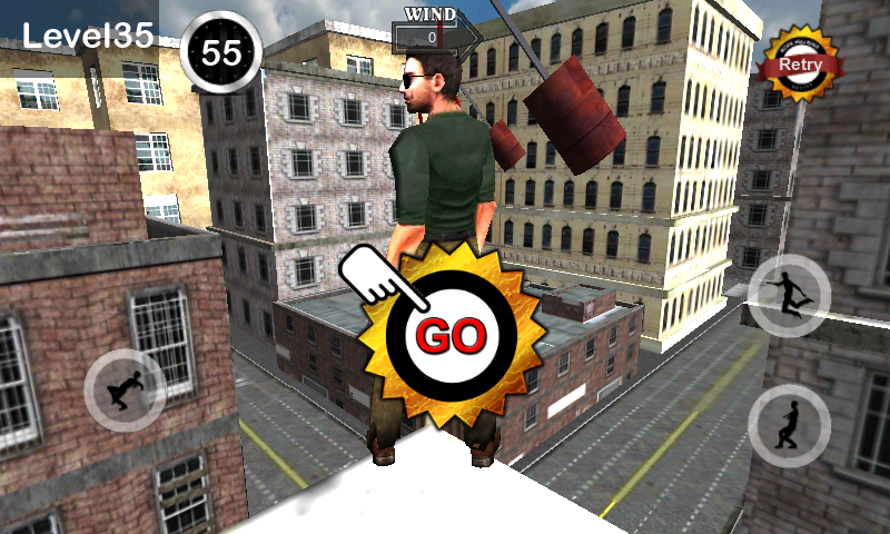 TightRope Walker 3D HD - screenshot