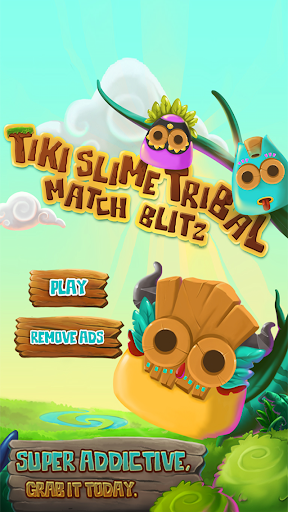 Tiki Slime Tribal Match Blast