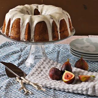 Bourbon Vanilla Fig Bundt Cake