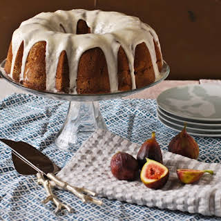 Bourbon Vanilla Fig Bundt Cake.