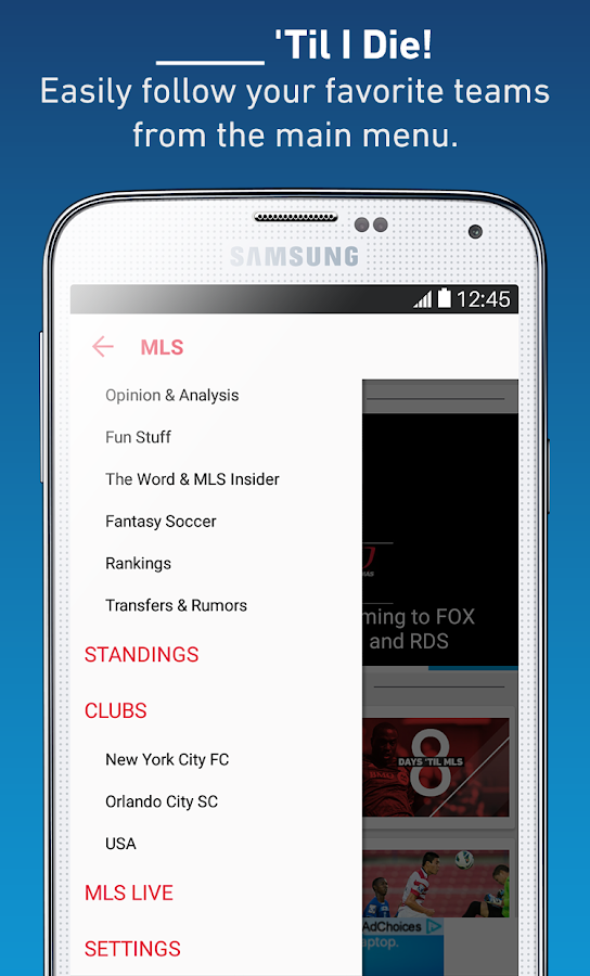 MLS- screenshot