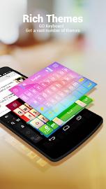 GO Keyboard - Emoji, Emoticons Screenshot 3