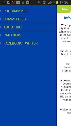 App WCTR Rio 2013