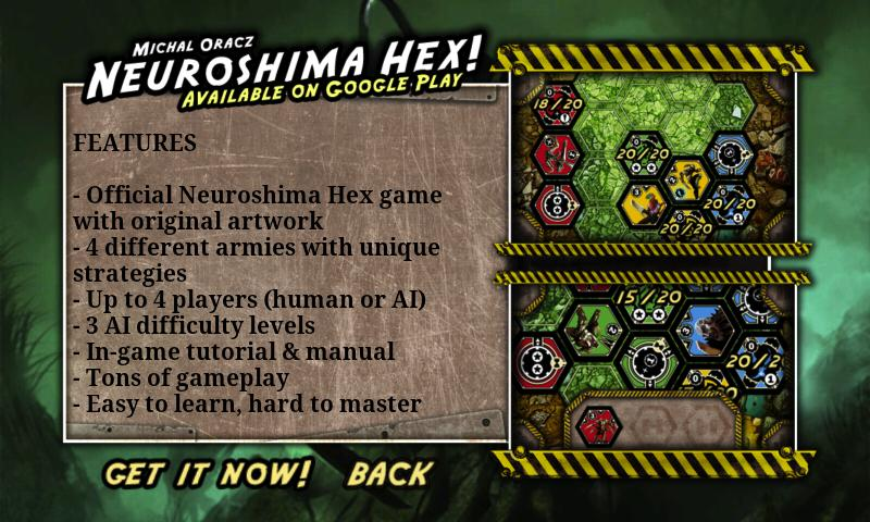 Neuroshima Hex Lite - screenshot