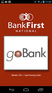 Bank First goBank - screenshot thumbnail