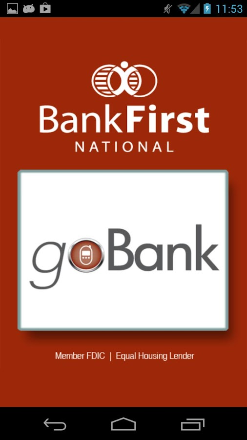 Bank First goBank - screenshot