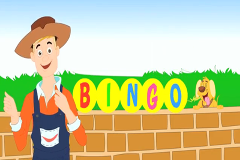Kids Nursery Rhyme Bingo