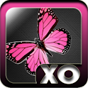 Pink Butterfly theme Go launch logo