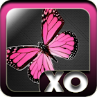 Pink Butterfly icon pack icon