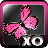 Launcher Theme Pink Butterfly