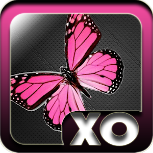 Launcher Theme Pink Butterfly 個人化 App LOGO-APP試玩