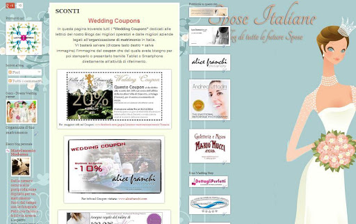 Wedding Coupons - Sconti Sposi