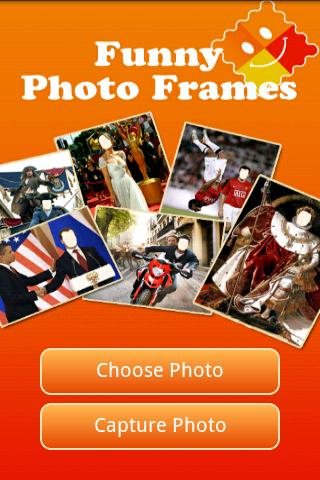Funny Photo Frames - screenshot