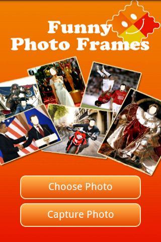 Funny Photo Frames - screenshot