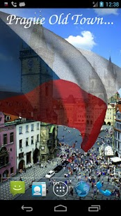 3D Czech Flag Live Wallpaper - screenshot thumbnail