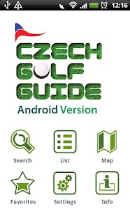 Czech Golf Guide- screenshot thumbnail