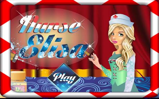 看護師エリサ - 病院のゲーム