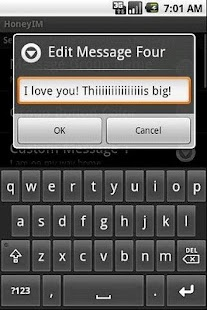 Honey IM- screenshot thumbnail